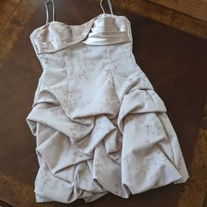 Taupe Occasion Dress